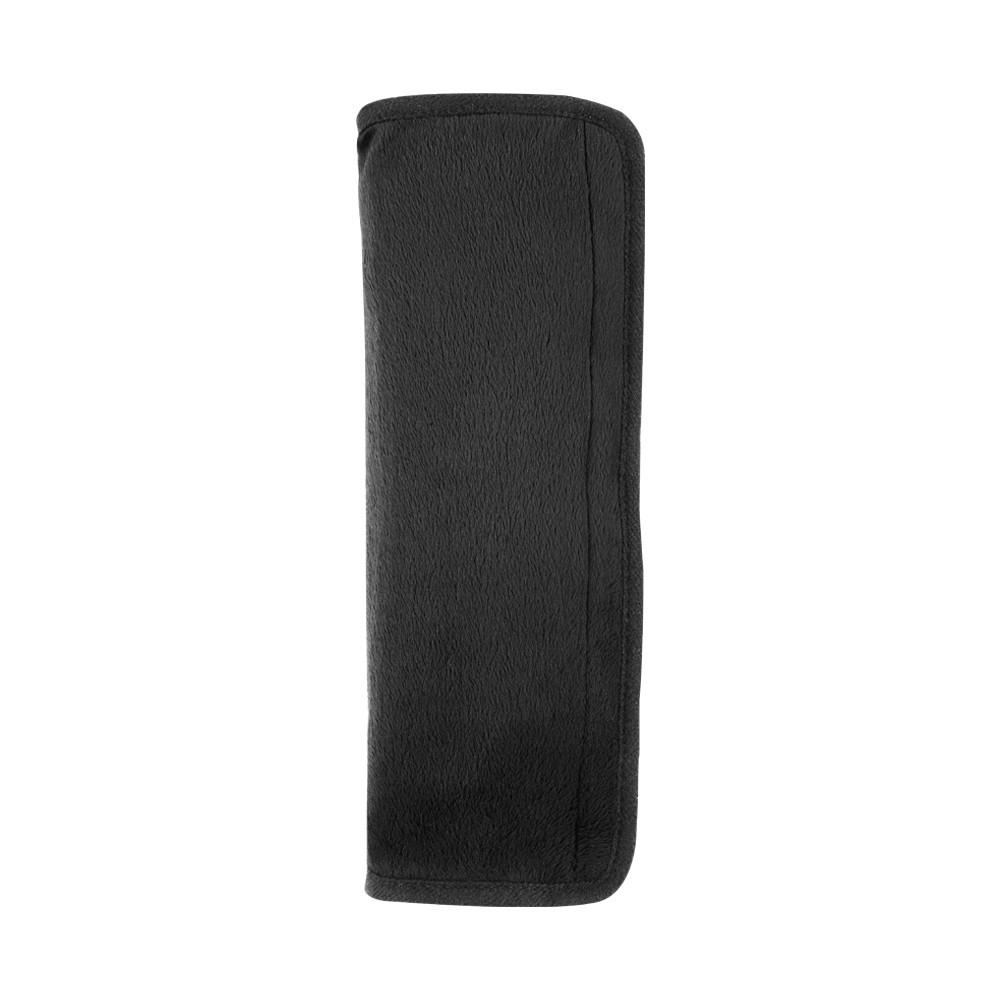 Car Happy Seatbelt Pillow - Black