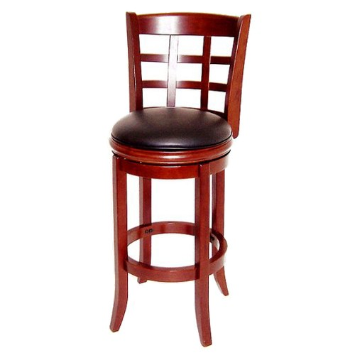 'Boraam Industries Kyoto 24'' Counter Stool - Cherry, Size: 24'' Counterstool, Red'