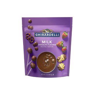 Ghirardelli Milk Chocolate Melting Wafers - 10oz