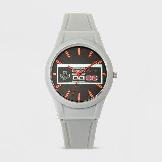 Kids Nintendo Analog Watch - Gray
