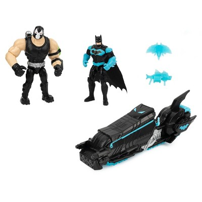 "Batcycle with Two 4"" Figures"