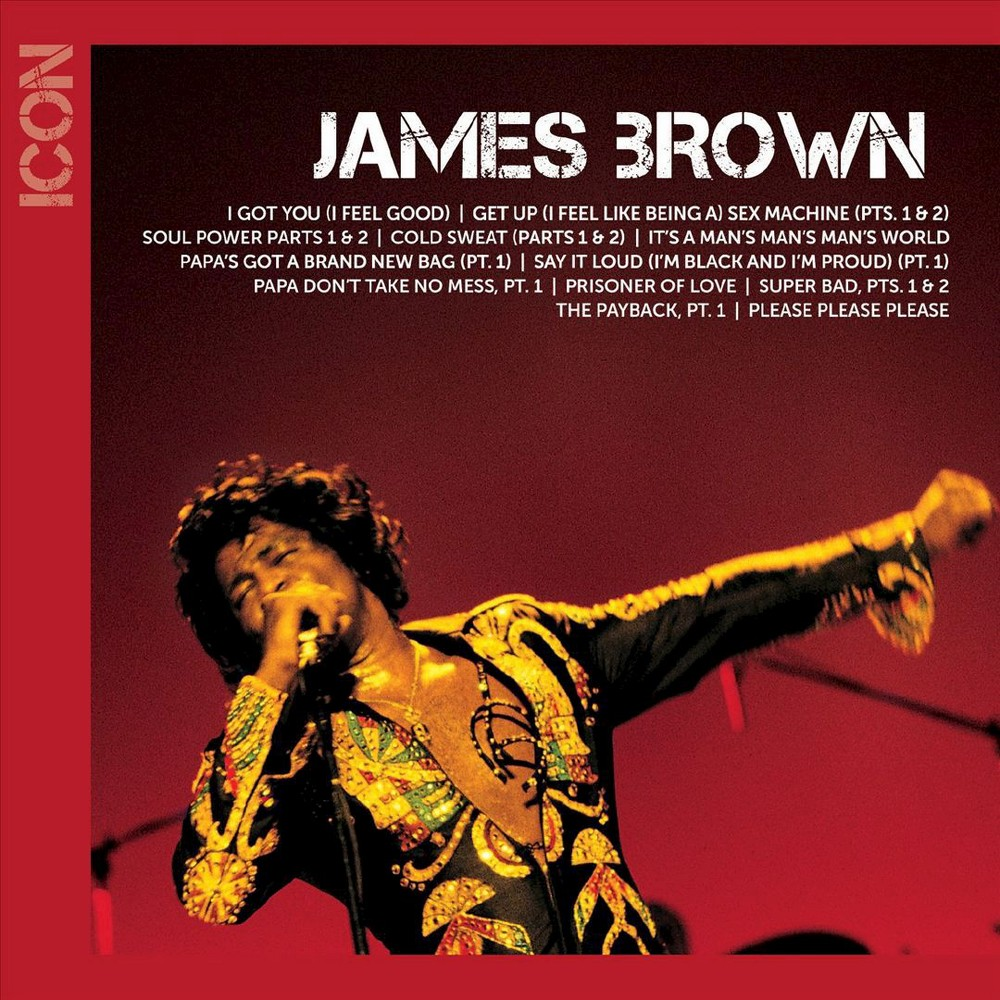 James Brown - Icon (CD) Music Top