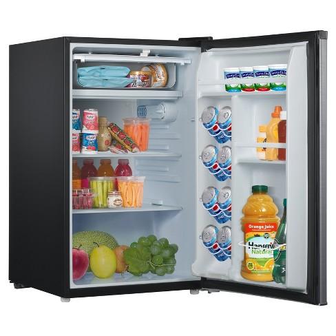 Whirlpool 43 Cu Ft Mini Refrigerator Stainless Steel Bc 127b Target