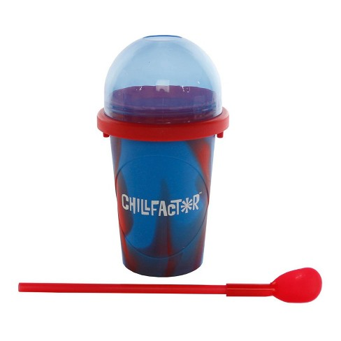 Chill Factor Slushy Maker - Red and Blue - image 1 of 4