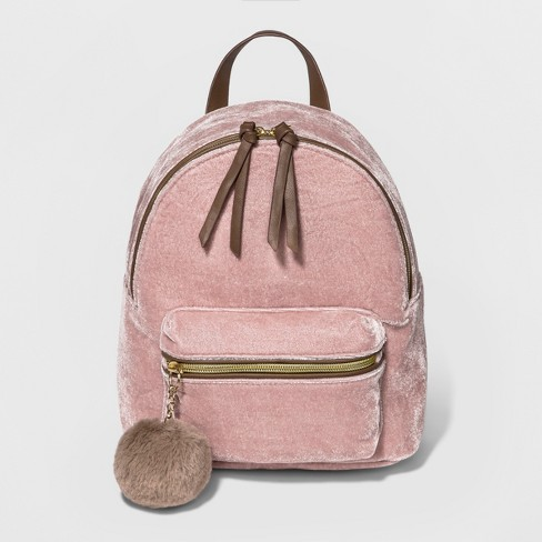 Women's T-Shirt & Jeans Backpack - Pale Blush - image 1 of 4