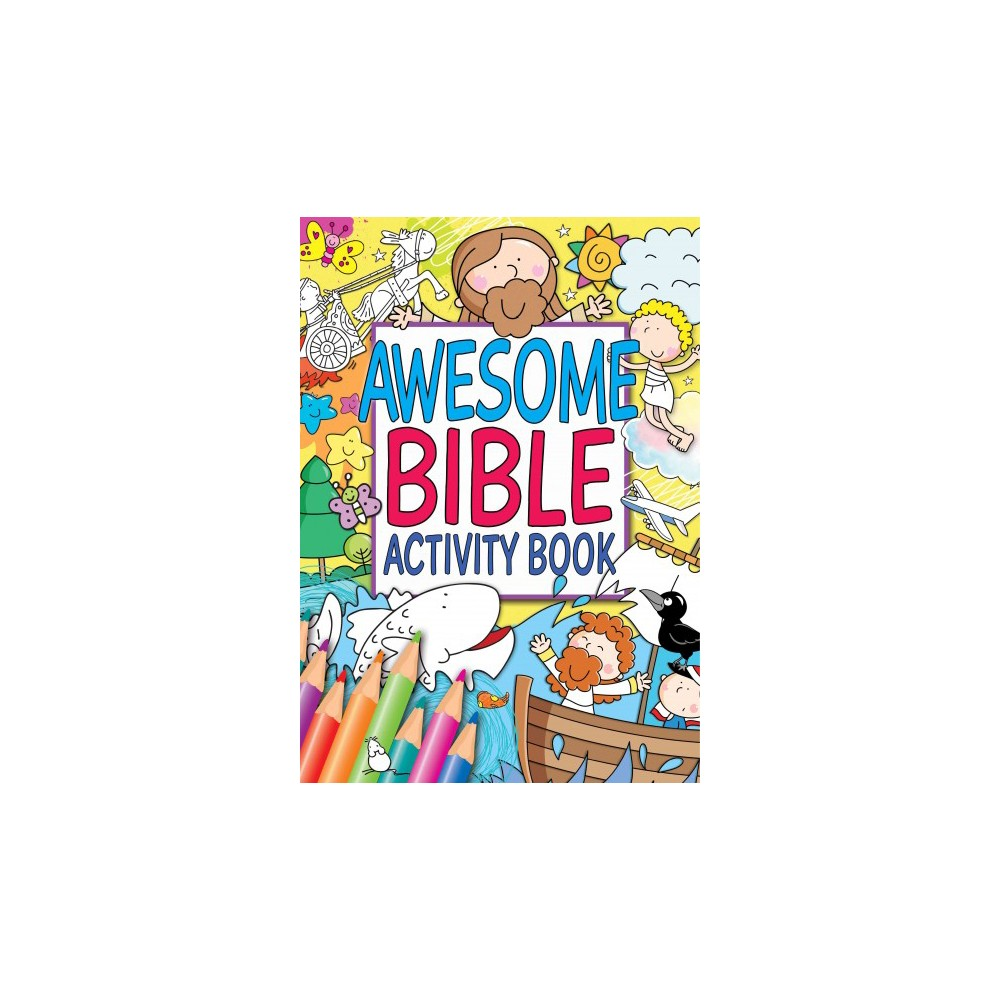 Awesome Bible Activity Book (Paperback)