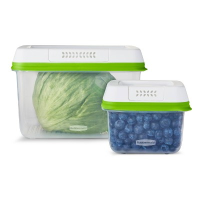 Rubbermaid 4pc Freshworks Set Green