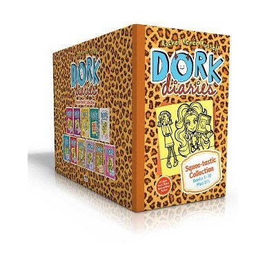 Dork Diaries Squee-Tastic Collection Books 1-10 Plus 3 1/2 - by  Rachel Renée Russell (Hardcover)