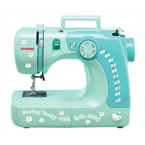 Hello Kitty Sewing Machine - Green (11706) - image 1 of 1
