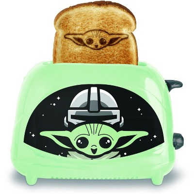 Uncanny Brands Star Wars The Mandalorian The Child 2-Slice Toaster