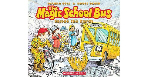 Magic School Bus Inside the Earth (CD/Spoken Word) (Joanna Cole) - image 1 of 1