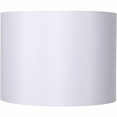 Brentwood White Hardback Drum Lamp Shade 16x16x12 (Spider)