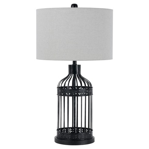 Way Birdcage Metal Table Lamp 150w 3 Brown Includes Energy