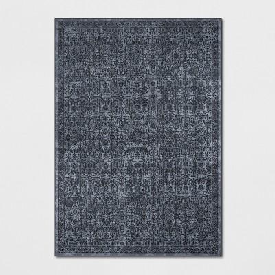 7'X10' Splatter Tufted Area Rugs Blue - Threshold™