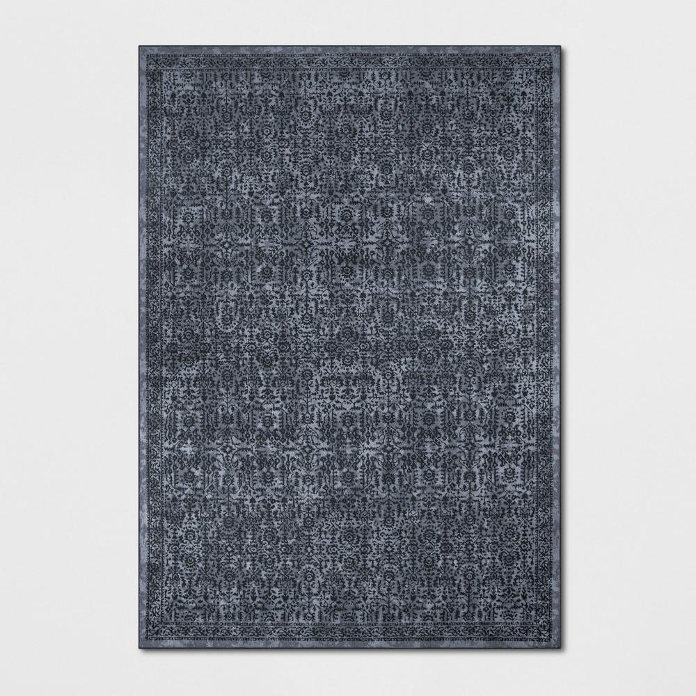 7'X10' Splatter Tufted Area Rugs Blue - Threshold
