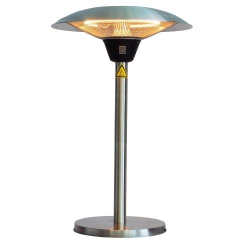 Cimarron Stainless Steel Table Top Halogen Patio Heater Stainless
