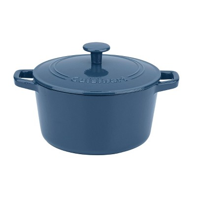 Cuisinart Chef's Classic 3qt Blue Enameled Cast Iron Round Casserole with Cover - CI630-20BG