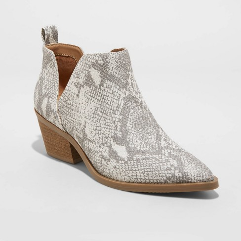 Women's Cari Cut Out Ankle Boots - Universal Thread™  - image 1 of 4