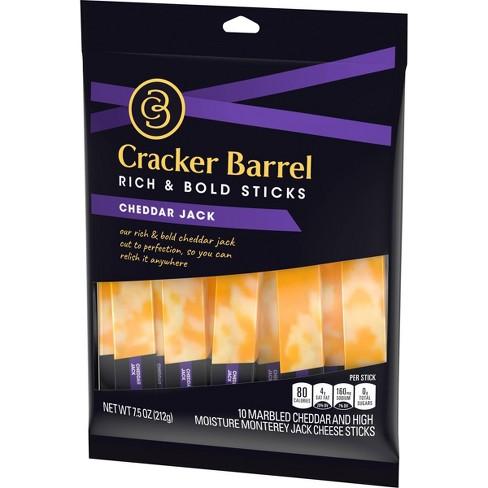 Cracker Barrel Cheddar Jack Cheese Sticks - 7 5oz