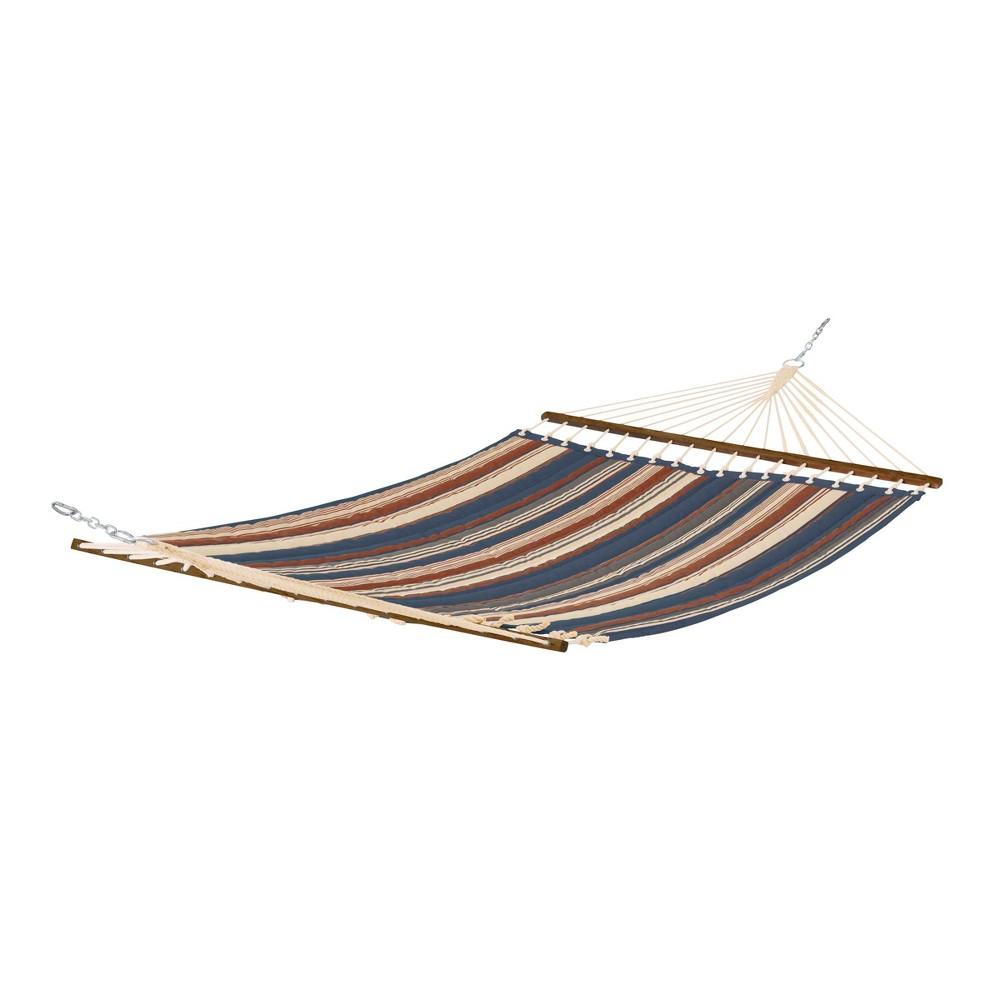 Fadesafe Quilted Hammock - Heather Indigo Blue Multi Stripe - Classic Accessories Montlake