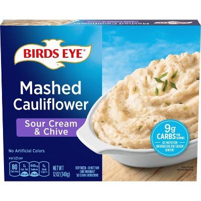 Birds Eye Sour Cream & Chives Frozen Mashed Cauliflower - 12oz