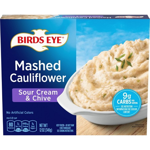 Birds Eye Sour Cream & Chives Frozen Mashed Cauliflower - 12oz - image 1 of 3