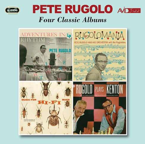 Pete rugolo - Adventures in rhythm/Rugolomania/Musi (CD) - image 1 of 1
