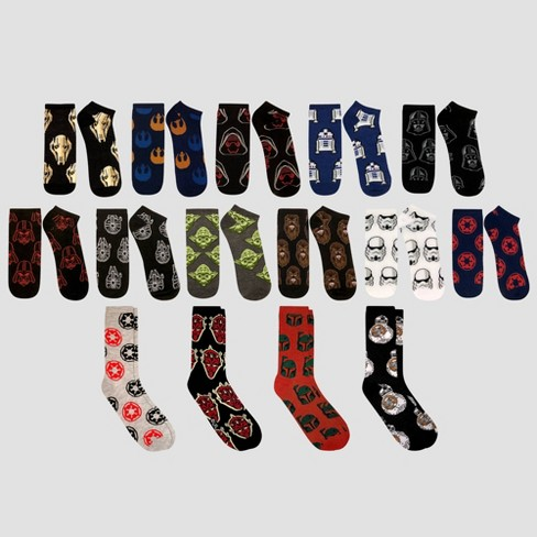 mens star wars socks