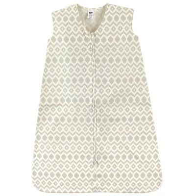 Hudson Baby Infant Cotton Sleeveless Wearable Sleeping Bag, Sack, Blanket, Aztec