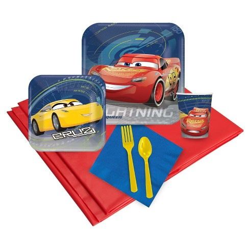 Disney Cars 3 Party Kit - image 1 of 1