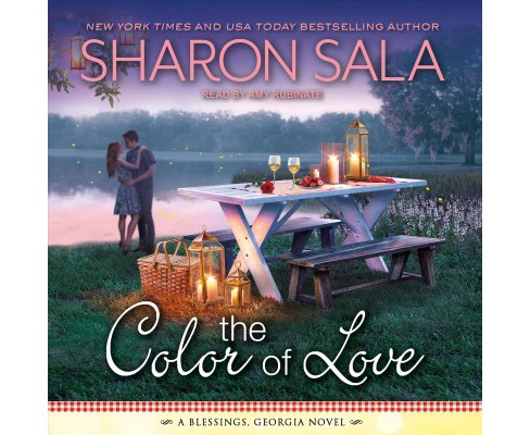 Color of Love -  Unabridged (Blessings, Georgia) by Sharon Sala (CD/Spoken Word) - image 1 of 1