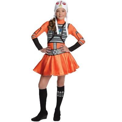 Rubies Star Wars Girls X-Wing Fighter Girl Costume (Medium)