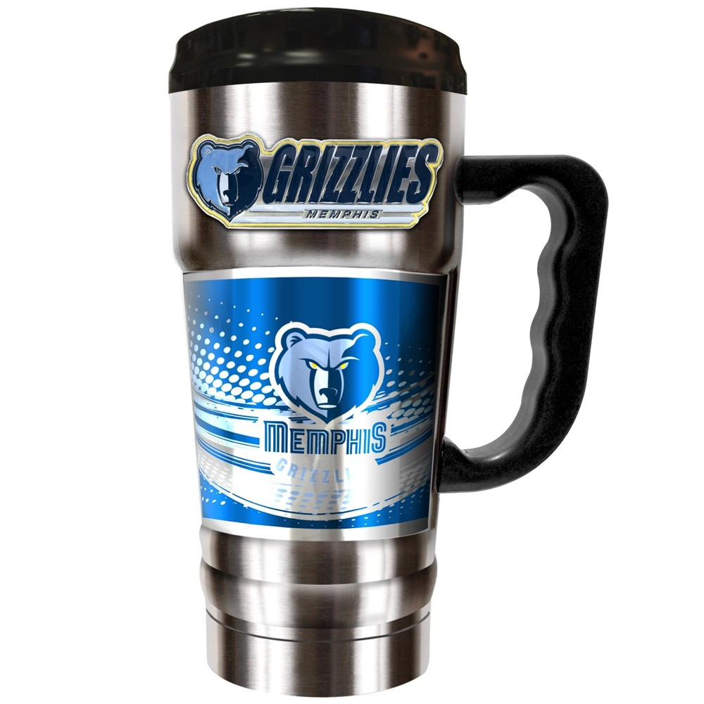 NBA Memphis Grizzlies 20oz Champ Vacuum Insulated Stainless Steel Travel Tumbler