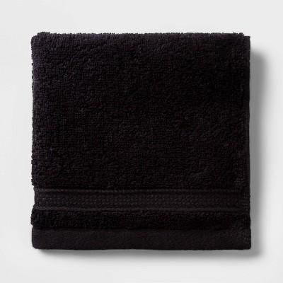 Soft Solid Washcloth Black - Opalhouse™