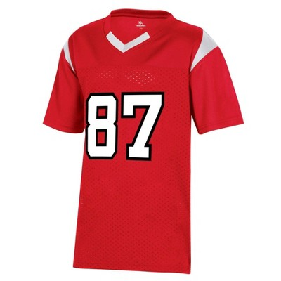 NCAA NC State Wolfpack Boys' Short Sleeve Jersey