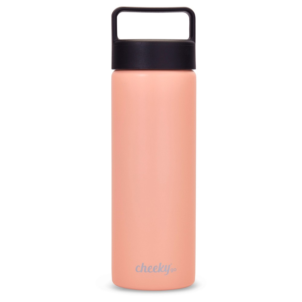 CheekyGo Insulated Stainless Steel Water Bottle - Millennial Pink 20oz