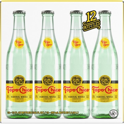Topo Chico Mineral Water - 12pk/11.5 fl oz Glass Bottles