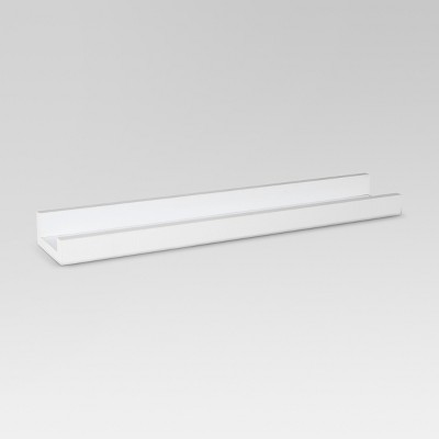 "23"" x 4"" Ledge Wall Shelf White - Threshold™"