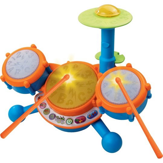 VTech KidiBeats Drum Set, toy drums and percussion image number null