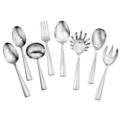 Oneida® Chef's Table 8pc Serving Set Silver
