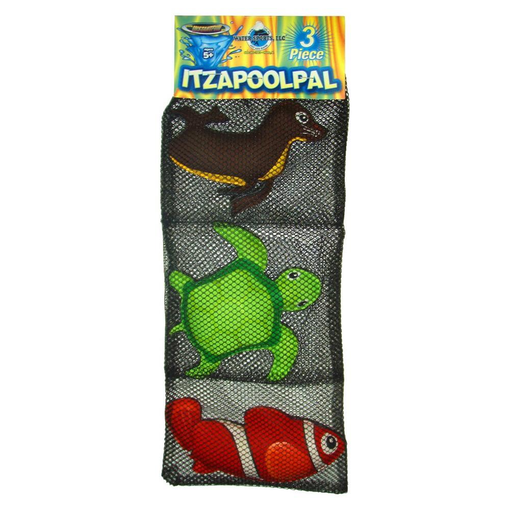 Itza Pool Pal 3-Piece Set, Animal Print