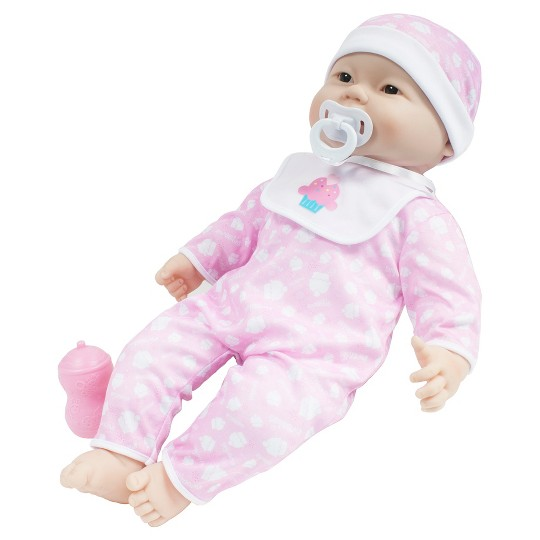 """JC Toys Lots to Cuddle Babies 14"""" Soft Body Asian Baby Doll image number null"""
