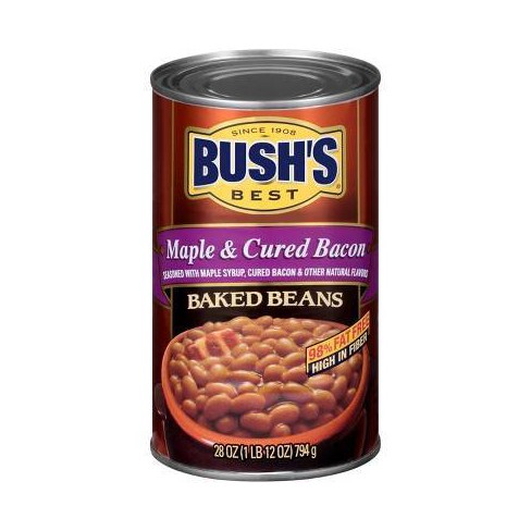 Maple Cured Bacon Baked Beans - 28oz