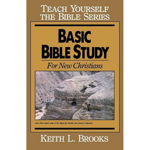 Basic Bible Study-Teach Yourself the Bible Series - by  Keith L Brooks (Paperback) - image 1 of 1