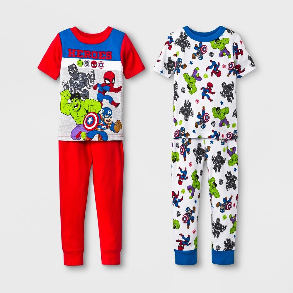 Marvel The Amazing Spiderman 2 Pajama Set Sizes 12M-5T