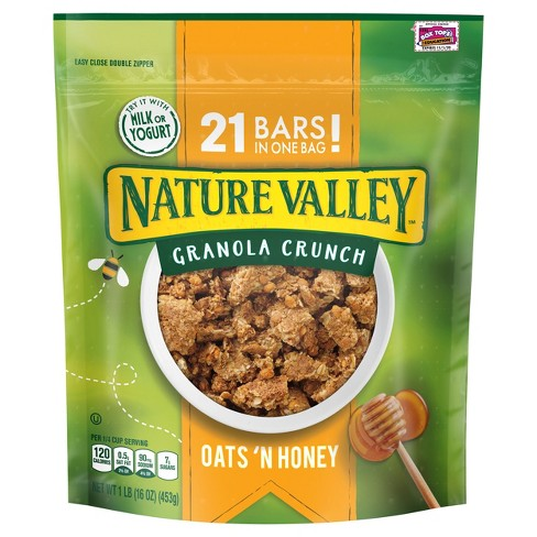 Nature Valley Oats 'N Honey Granola Crunch - 16 oz - image 1 of 4