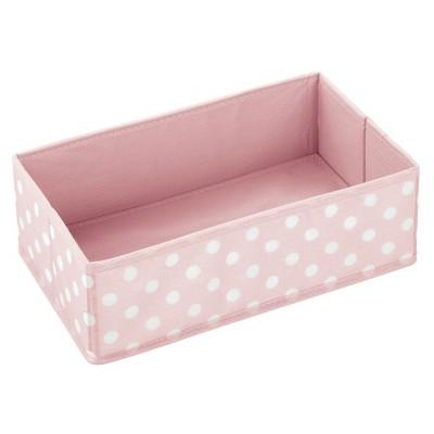 mDesign Kids Fabric Dresser Drawer/Closet Storage Organizer, 3 Pack