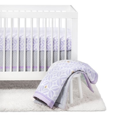 Crib Bedding Set Pretty in Purple 4pc - Cloud Island™ - Purple
