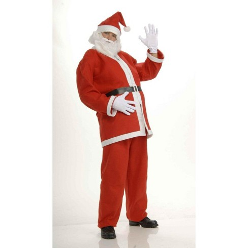 Forum Novelties Santa Claus Adult Economical Costume Suit Standard - image 1 of 1