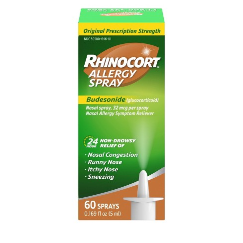 Rhinocort 24 Hour Allergy Relief Nasal Spray - Budesonide - image 1 of 4